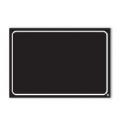 Lavagnetta Neutra Serie Black Cancellabile