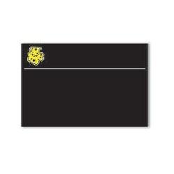 Lavagnetta Formaggi Serie Black Cancellabile