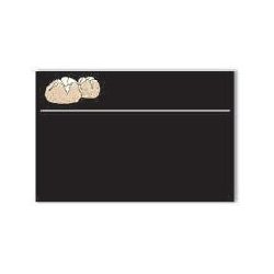 Lavagnetta Panetteria Serie Black Cancellabile