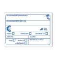Segnaprezzo PVC Pescheria Bianco Stampato