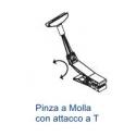 """Pinze a Molla con Attacco a """"T"""" per Cornici"""