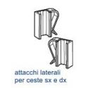 Attacchi Laterale per Ceste con Filo Metallico