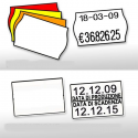 Rotoli Etichette 26 X 16 Bianche o Fluo