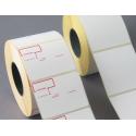 Rotolo da 1000 Etichette MM.58 X 43 Foro 40 Stampa Standard