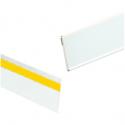 Profili Adesivi Porta Frontalini in Plastica per Scaffali H. 40 Barra da 1 Metro