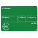 Segnaprezzi PVC Ortofrutta Verde Stampato