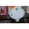 Segnaprezzo Ovale PVC per Farmacie e Sanitarie