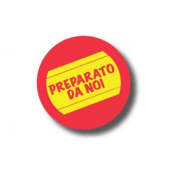 Etichette Tonde PREPARATO DA NOI