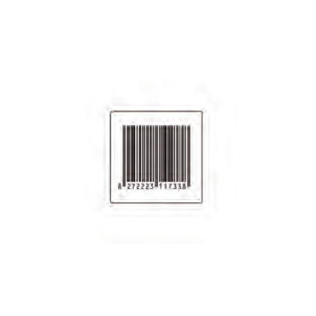 Etichetta adesiva Antitaccheggio HQ 30 X 30 mm Falso Barcode