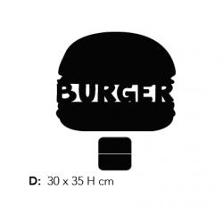Lavagnetta da Tavolo Burger