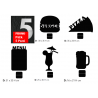 Promo Pack 5 Lavagnette da Tavolo