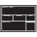 Lavagna Forex per Ortofrutta A6 (148 X 105 mm) Tracciabilità Prodotto