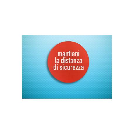 Cerchio Adesivo Distanza
