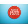 Cerchio Adesivo Calpestabile Kit 5 Pezzi