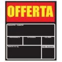Lavagna Forex Extra Black per Ortofrutta Offerta 297 X 310 H mm.